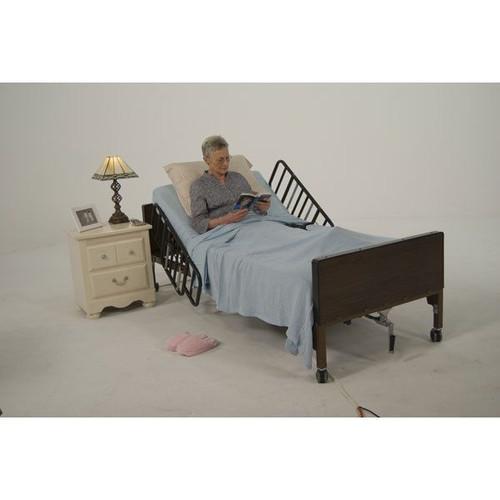 Drive Medical Tool Free Adjustable Half Length Bed Rail | DRI-15208BV | UPC: 822383141992
