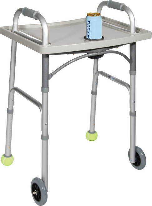 Drive Medical Universal Walker Tray with Cup Holder | UPC: 822383222028