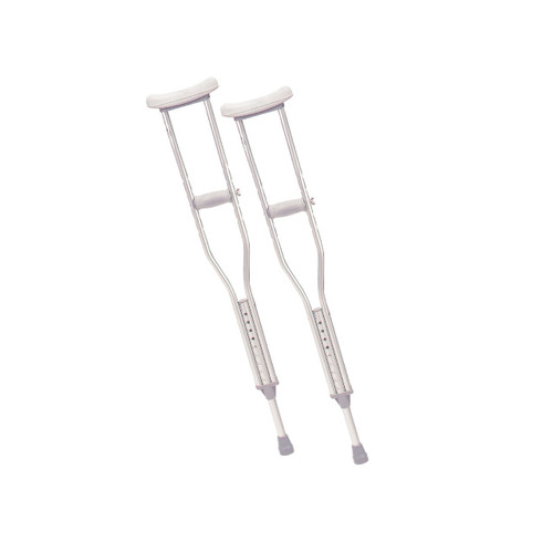Drive Medical Walking Crutches with Underarm Pad and Handgrip YOUTH 1 Pair/BX -  DRI-10401-1