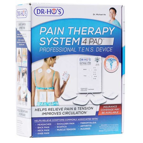 Dr. Ho's Pain Therapy System 4-Pad (Basic Package) - TENS Device   1000-C   UPC 627843030539