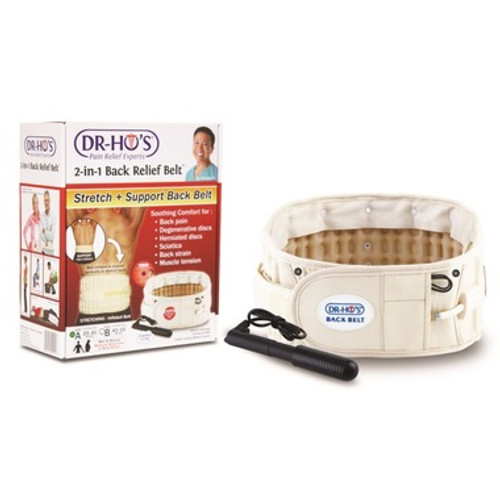 Dr. Ho's 2 in 1 Back Relief Stretch & Support Decompression Belt -  DRH-3100