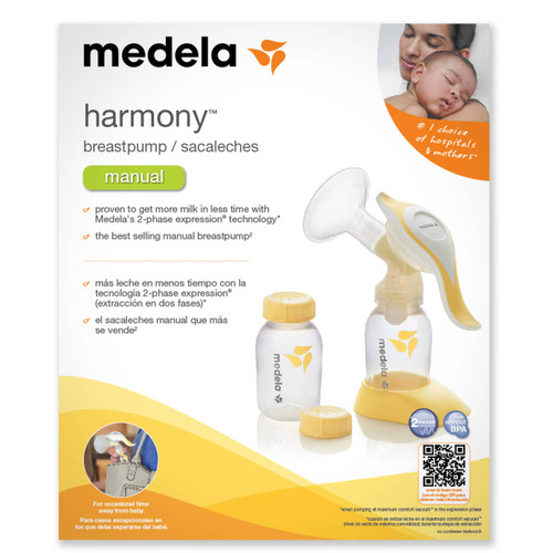 Medela Harmony Manual Single Breast Pump | UPC 020451271613