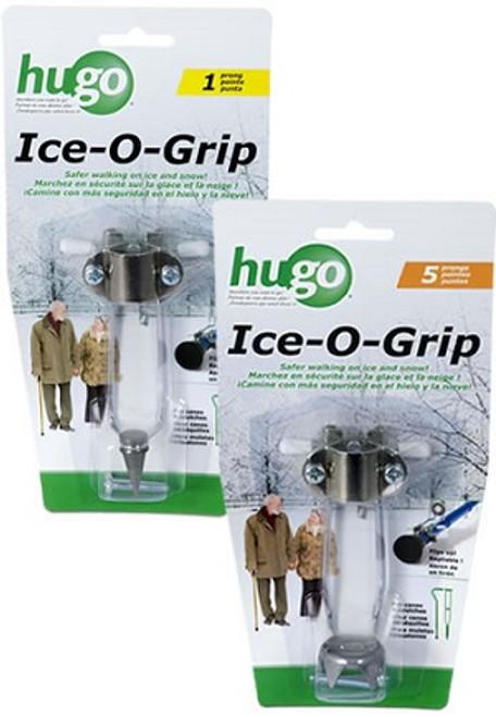 Hugo Ice-O-Grip Cane Tip | HUGO-737-165 | HUGO-737-155 | 754021215348 | 754021215331