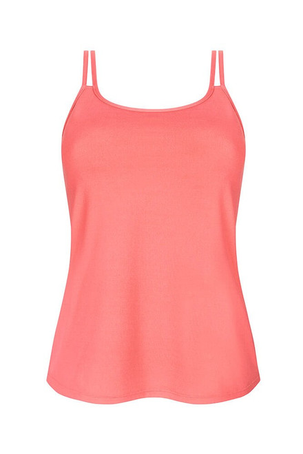 Amoena Valletta Tank Top with Built-in Mastectomy Bra-Strawberry-Front   4026275422947  4026275422954   4026275422961  4026275422978   4026275422985  4026275422992   4026275423005   4026275423012   4026275423029   4026275423036