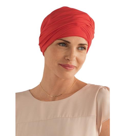 Amoena Daylily Knit Turban Cap -