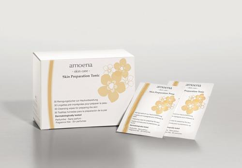 Amoena Skin Tonic Wipes - Box of 30, mastectomy supplies | UPC 4026275774169
