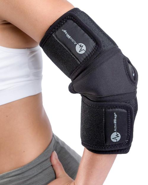 ActiveWrap Elbow Heat / Cold Compression Therapy Wrap | 852615001220, 852615001022
