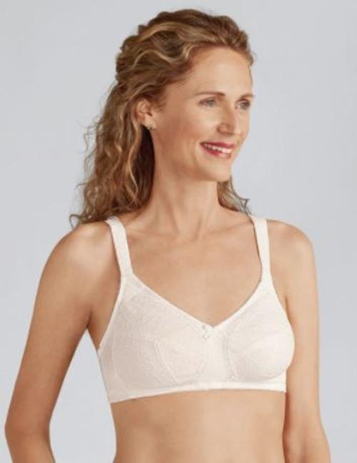 4da78e6f87 Amoena Ina Soft Cup Bra Off-White  44136 Mastectomy bra