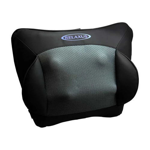 Relaxus Deep Tissue Massager With Soothing Infrared Cushion ( old name: Relaxus Thermo Shiatsu Massage Cushion)   MPN: 703241   UPC: 628949032410  ( old: part number 703211   UPC 628949032113)