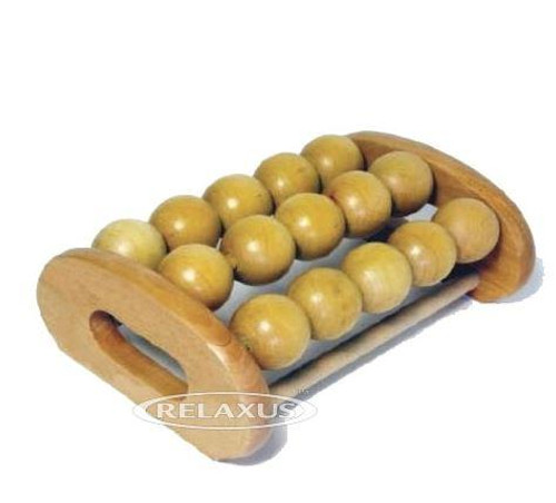 Foot & Body Wooden Roller by Relaxus UPC 628949155096