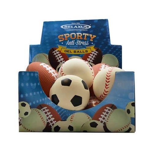 Relaxus Sporty Anti-Stress Gel Balls various   REL-701417   UPC: 745313337954