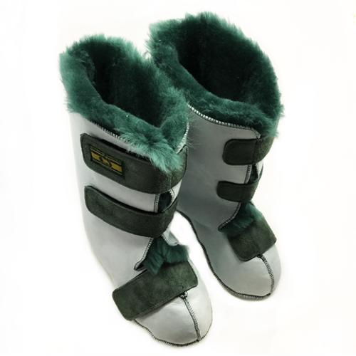 Sheepskin Long Boots Medical Grade (pair) ASA-LBMS |  ASA-LBMM | ASA-LBML | ASA-LBMXL |