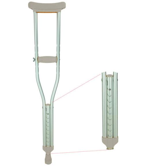 MOBB Pushbutton Crutches Adjustable   UPC 844604098601   UPC 844604098595   UPC 844604098588