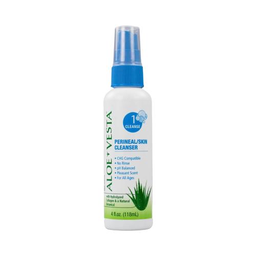 ConvaTec Aloe Vesta Perineal Skin Cleanser 118ml   401868, 401869   UPC 768455063031
