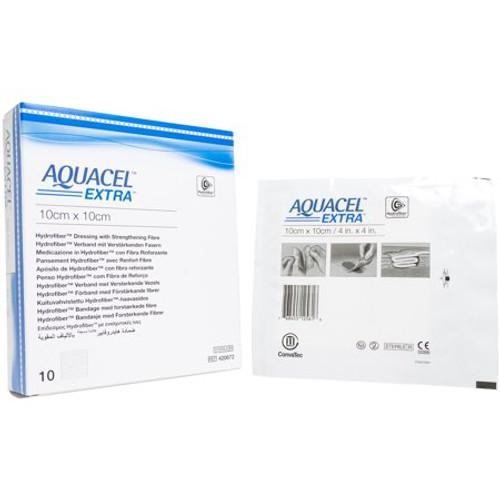 ConvaTec Aquacel Extra Dressing with Strengthening Fiber - 10cm 420672 | UPC 768455126651
