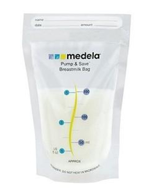 Medela Pump and Save Bags, 020451270418