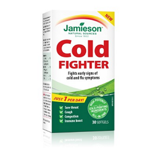 Jamieson Cold Fighter 30 Softgels | UPC 064642090041