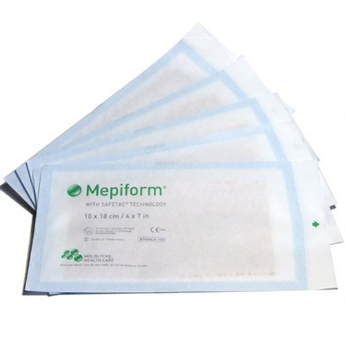 Mepiform Scar Reduction Dressings - 10cm x 18cm