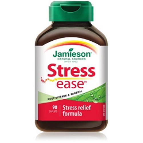 Jamieson StressEase 90 Caplets | UPC 064642022950