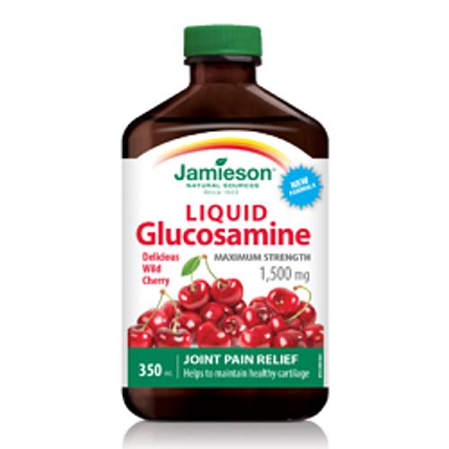 Jamieson Glucosamine Liquid 1500mg 350ml   UPC 064642027252