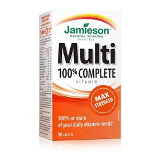 Jamieson Complete Multi Max Strength 90 Caplets -  JM-1053-001