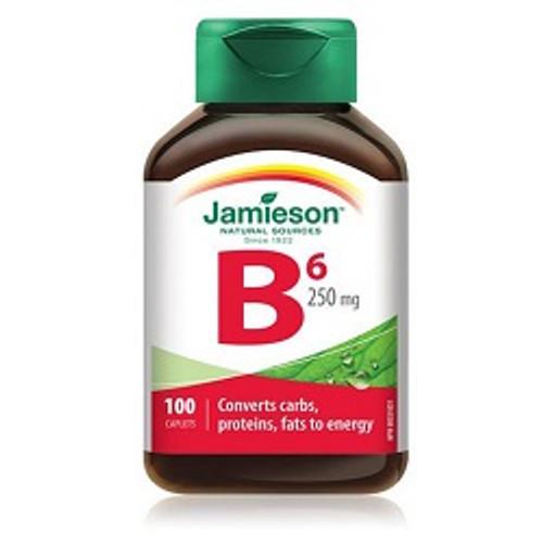 Jamieson Vitamin B6 250mg 100 Caplets -  JM-1082-001