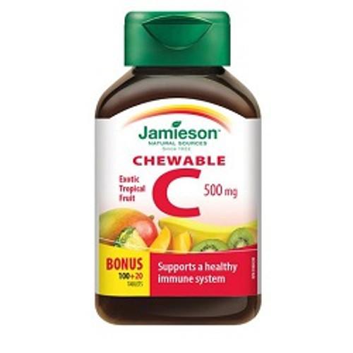 Jamieson Chewable C 500mg -