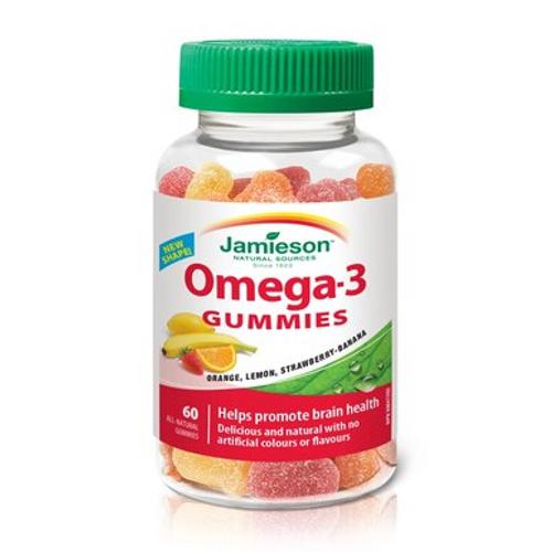 Jamieson Omega 3 - 60 Gummies -  JM-1172-001