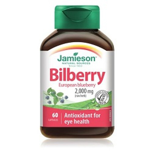 Jamieson Bilberry 2000mg 60 Capsules -  JM-1136-001
