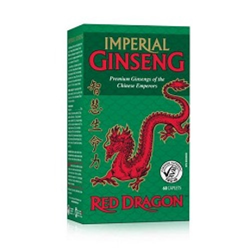Jamieson Red Dragon Imperial Ginseng 60 Caplets | UPC 064642022271