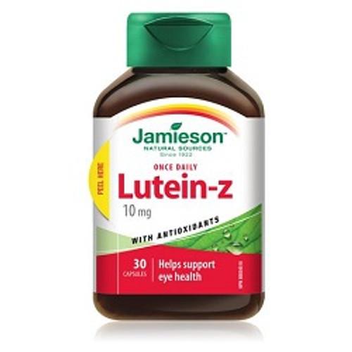 Jamieson Lutein-Z 10mg 30 Capsules -  JM-1074-001