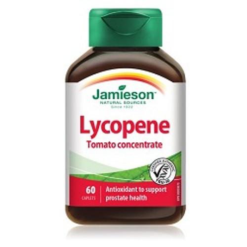 Jamieson Lycopene Tomato Concentrate 60 Caplets   UPC 064642046222