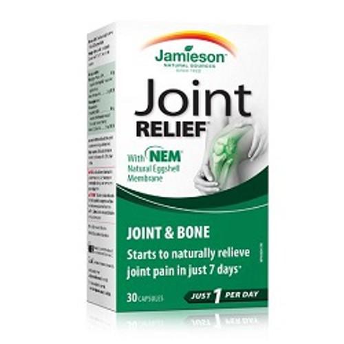 Jamieson JointRelief Joint & Bone 30 Capsules   UPC 064642072603