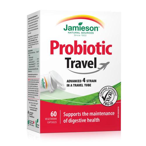 Jamieson Advanced 4 Strain Probiotic Travel 60 Capsules | UPC 064642090034