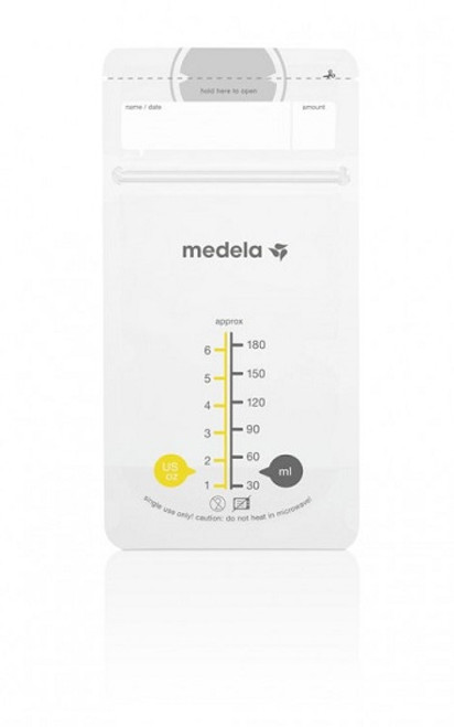 Medela Breast Milk Storage Bags - empty | UPC 020451680606