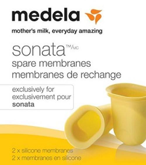 Medela Sonata Spare Membranes | UPC 020451330068