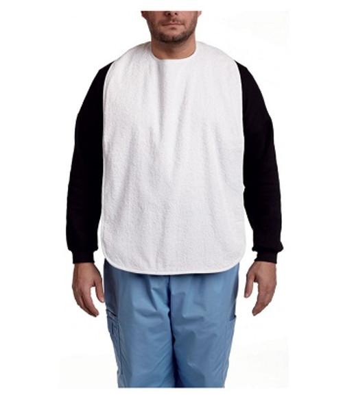 MOBB White Terry Cloth Bib | 844604084451, 844604084468, 844604084444