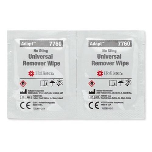 Hollister Adapt Universal Remover Wipes 50 | UPC 00610075077601