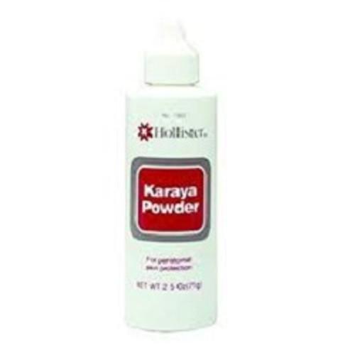 Hollister Karaya Powder Puff Bottle 2.5 oz   UPC 00610075176359