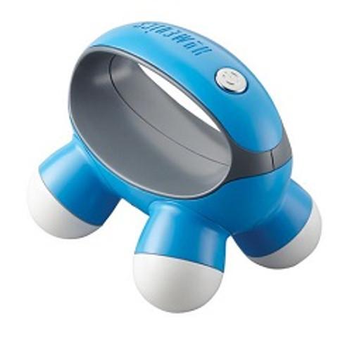 HoMedics Quatro Mini Massager Blue   UPC 031262073891