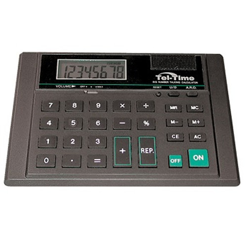 MaxiAids Tel-Time Desktop Talking Calculator | UPC 612750649585