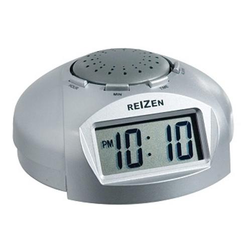 MaxiAids Reizen Big LCD Display Talking Alarm Clock | UPC 612750008023