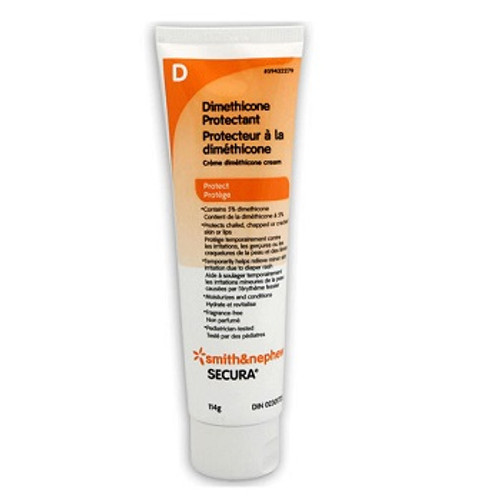 SECURA Dimethicone Skin Protectant Cream 114g   UPC 040565123844