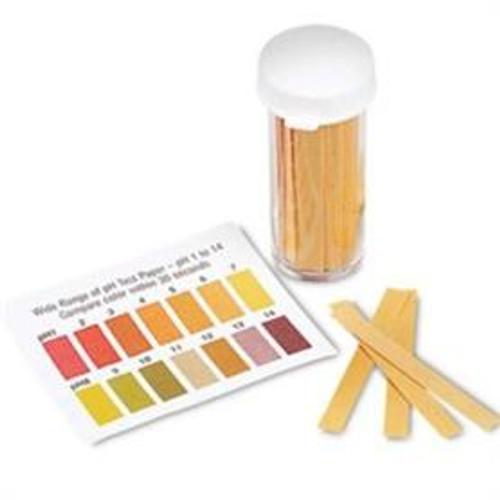 Pharmasystems pH Test Strips 1-14 - Vial 100 strips -  IMP-107101