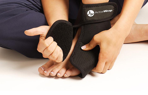 ActiveWrap Hot & Cold Ankle or Foot Wrap | UPC 852615001015