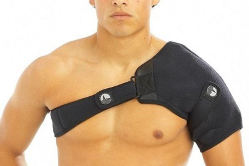 ActiveWrap Hot & Cold Shoulder Wrap front | UPC 852615001107, 852615001114