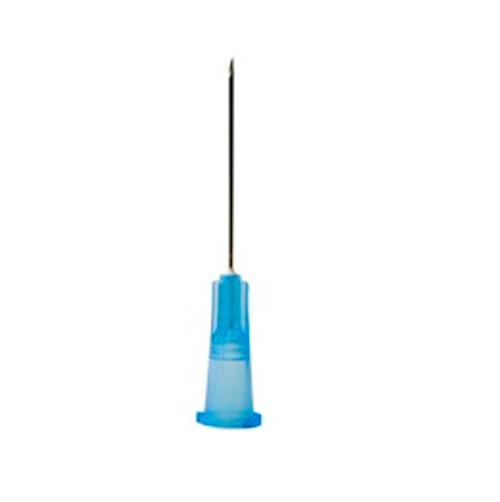 "BD PrecisionGlide Hypodermic Regular Beveled Needles 1"" 25G - Box of 100 -  BD-305125"