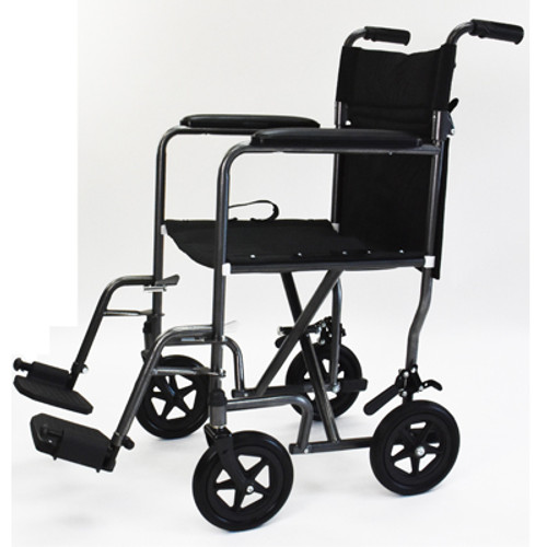 Invacare Great Steel Transport Chair | UPC 9153657804, 9153657805