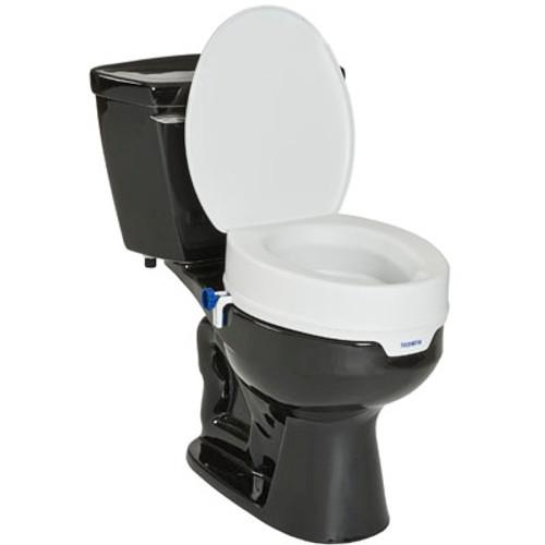 Invacare Toilet Seat Raiser with Lid INV-1534999 | UPC 9153651987