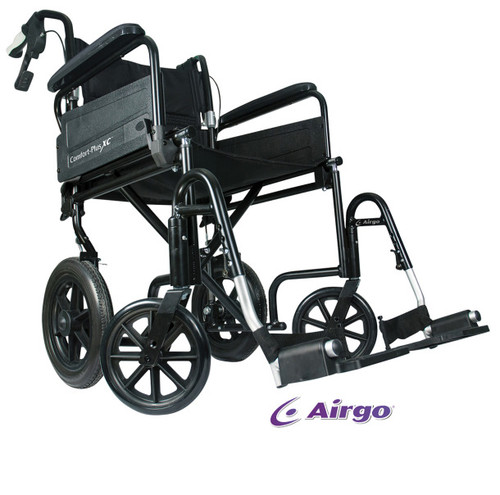 Airgo Comfort-Plus XC Premium Transport Chair | UPC 775757008301